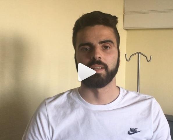 VÍDEO | Pelayo Novo da las gracias por las muestras de cariño