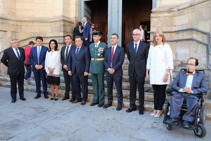Albacete celebra el 12 de octubre destacando el papel de la Guardia Civil