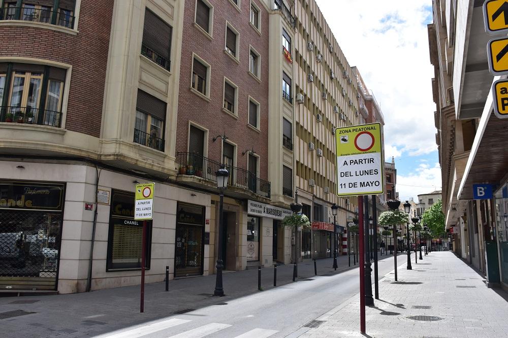 Calle Rosario peatonal