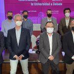 """Debate para las elecciones a Rector de la UCLM: Garde dice que se van a perder fondos europeos, Collado habla de una """"espléndida"""" gestión"""