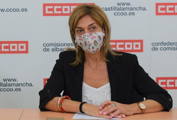 Carmen Juste mascarilla
