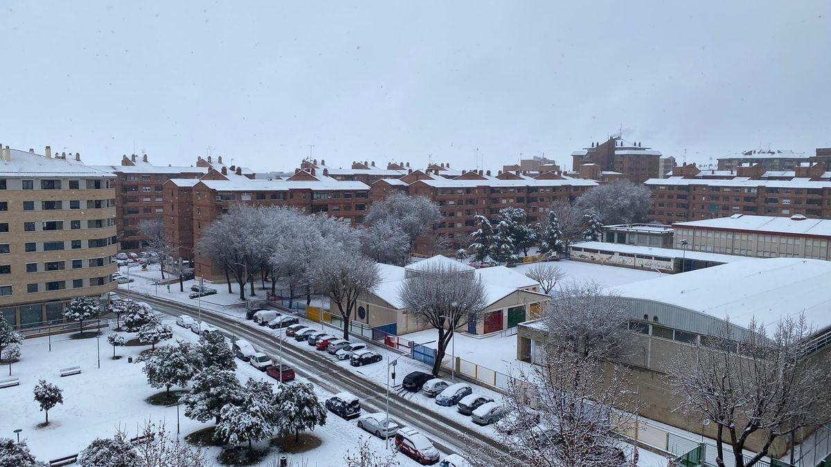 Nieve Albacete Filomena