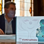 """La Diputación hará una 2ª edición de 'El árbol optimista' que el """"Doctor Cepillo"""" plantó en un grupo de jóvenes del IES 'Amparo Sanz'"""