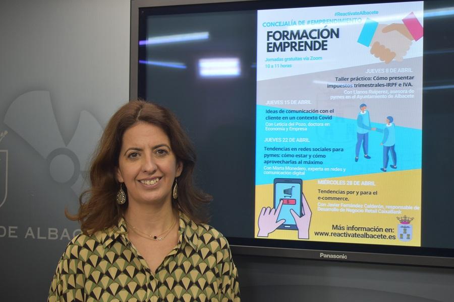 Laura Avellaneda-Formación Emprende