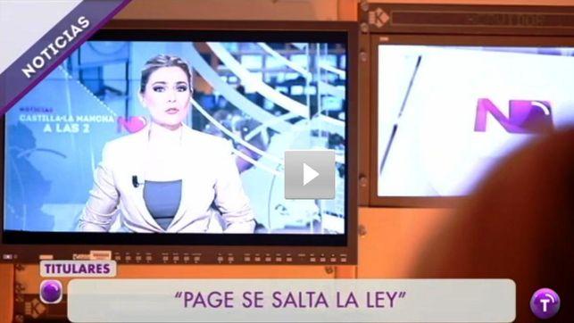 Captura del informativo dirigido por Victoría Vigón / Foto: UGT-RTVCM