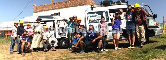 Quijote Team en Ulan Bator Nalag 1