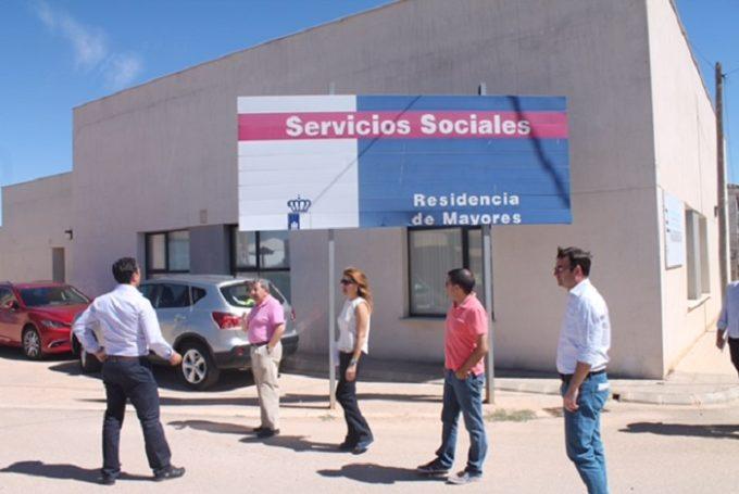 Visita Aurelia Sánchez- Residencia Vianos