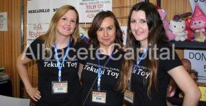 Marta, Ana y Ana, organizadoras de Alba Toy y fundadoras de Tekubi Toy.