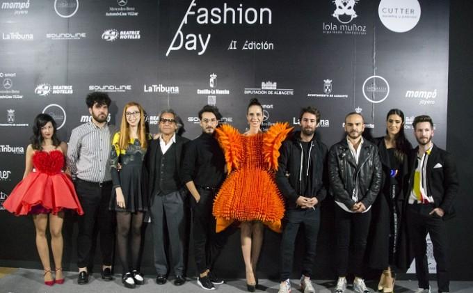 Los diseñadores españoles apoyando con su presencia AB Fashion Day