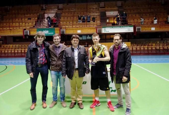 Equipo campeón DJC Palacios.30-12-15