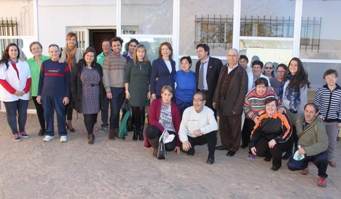 FOTO NOTA. CONSEJERÍA DE BIENESTAR SOCIAL. Centro Ocupacional El Castellar Mota del Cuervo