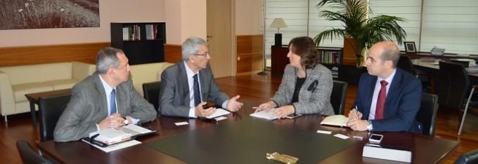 Visita consejera EEE Corte Arbitraje Toledo