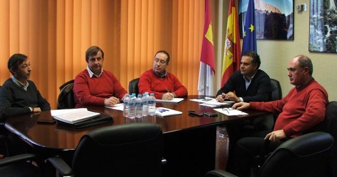 REUNION JCCM ALBACETE- JUNTA CENTRAL DE REGANTES MANCHA ORIENTAL