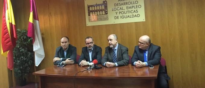 RUEDA DE PRENSA EN LA AGENCIA DE DESARROLLO LOCAL- VILLARROBLEDO