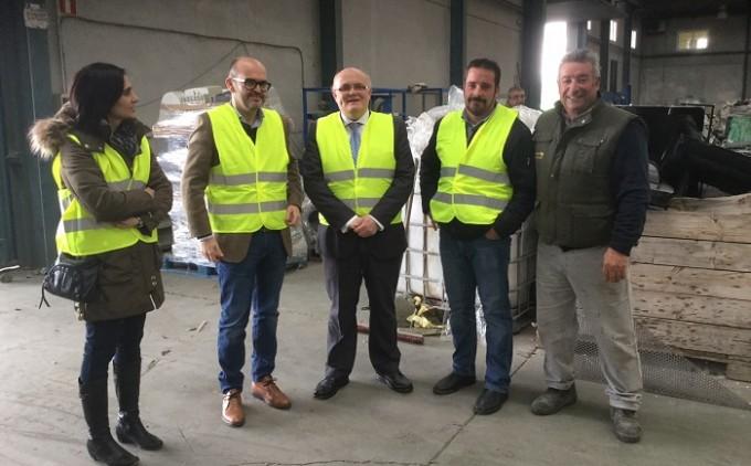 Visita Ruiz Santos- Planta de Reciclaje RAEES Pozo Cañada