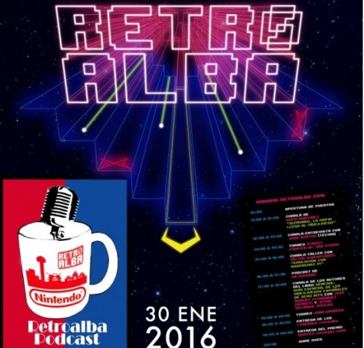 cartel retroalba 2016