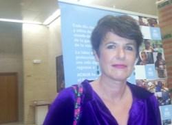 Francesca Friz-Prguda, representante de ACNUR en España.