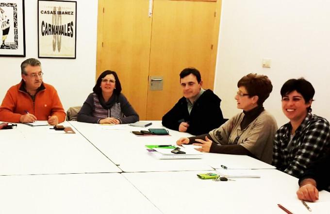 Reunión Ganemos-IU con la Agrupación Ciudadana de Casas Ibáñez