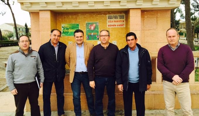 Reunión JCCM Albacete- Regantes Albatana