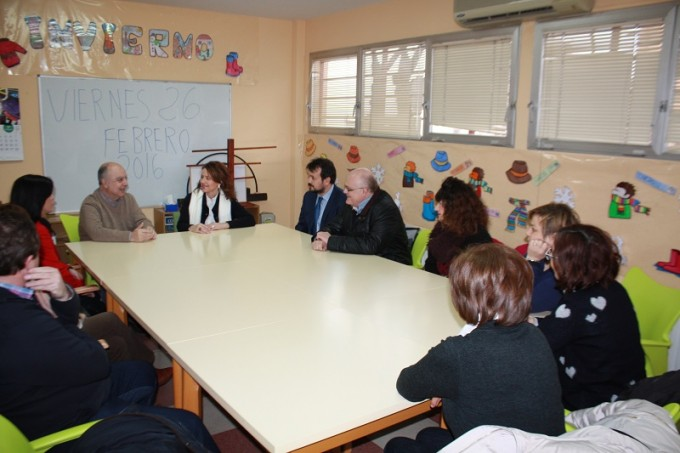 Reunión de Aurelia Sánchez con AFA La Roda