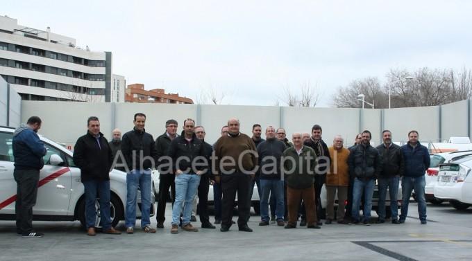 paro taxistas Albacete