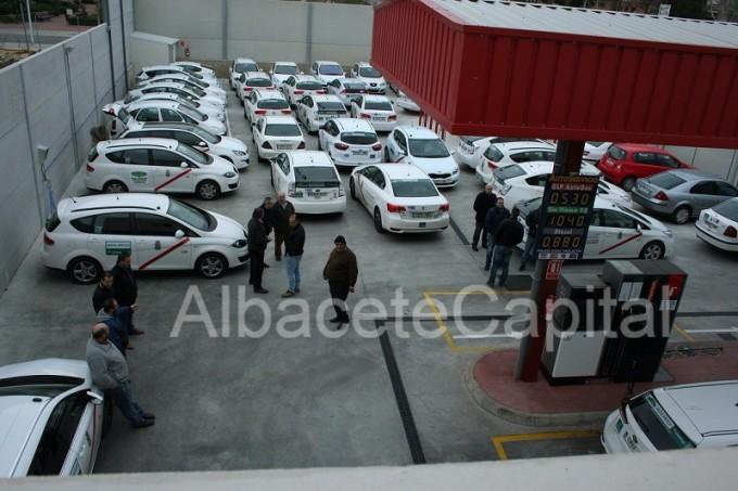 paro taxistas albacete 2