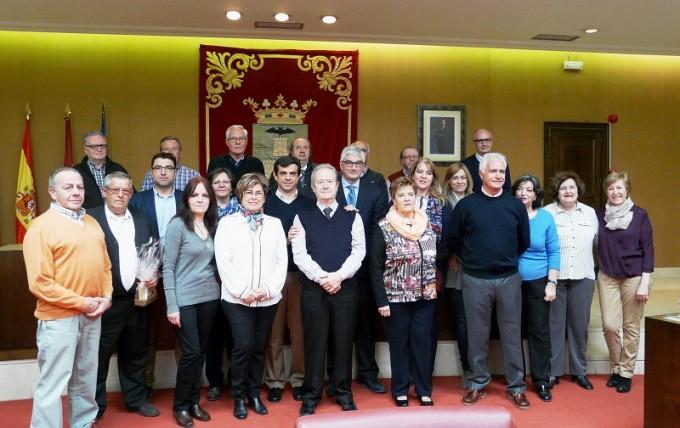Foto familia. Jubilados Ayuntamiento.14-3-16