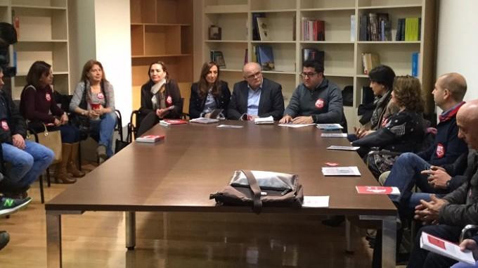 Fotografía Reunión Instituto de la Mujer, JCCM y UGT Albacete
