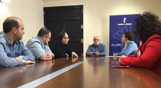 Reunión JCCM Albacete- Comité de Empresa de ADVEO