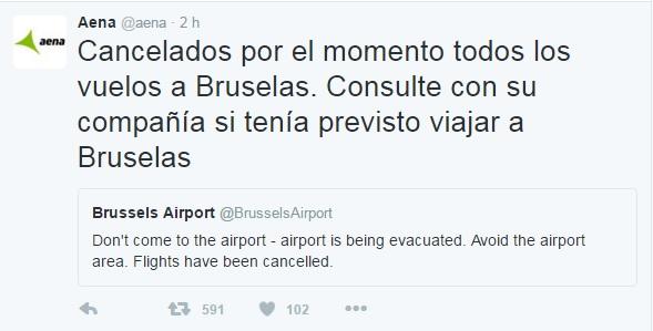 cancelados vuelos blegas