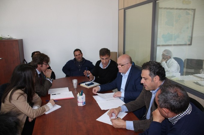 REUNION JCCM ALBACETE- CUNICULTURA VILLAMALEA