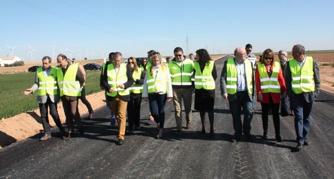obras carretera La Roda Barrx