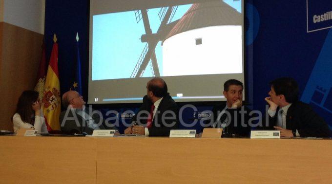 Presentación de los actos hoy en Albacete.