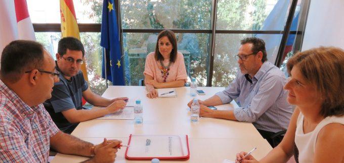 Reunión directora general de turismo con inspección de trabajo y su equipo