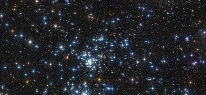 the famous stars double cluster in the constellation of perseus.