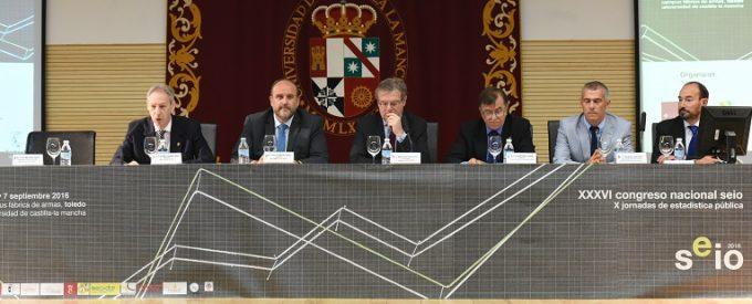 l XXXVI Congreso Nacional de Estadística e Investigación Operativa en el Paraninfo