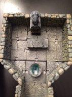 Ein Altarraum, den Drachen geweiht