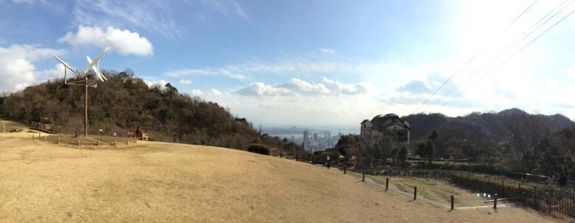 Panorama di lapangan