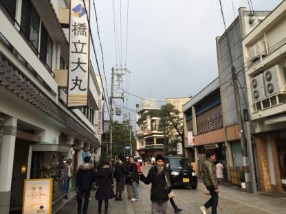 Amanohashidate - sisi stasiun (5)