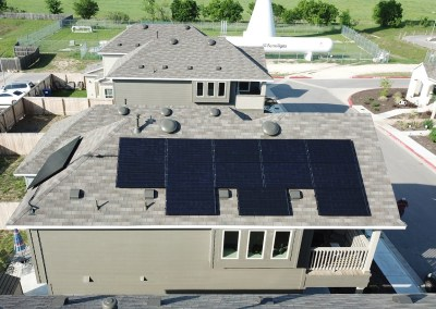 4.8 kW Solar Panel Installation in Austin, Texas