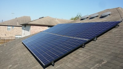Brownsville, Texas Home Solar Panel Install-3