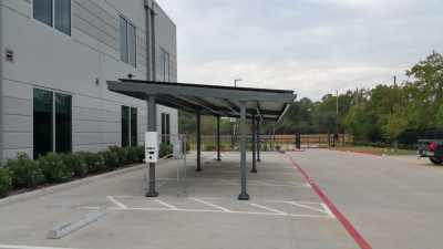Commercial Solar Panel Carport Katy Texas-2