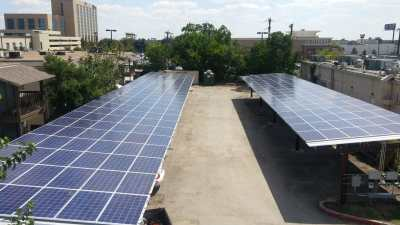 San Antonio Texas Commercial Solar Panel Install Escondido APTs