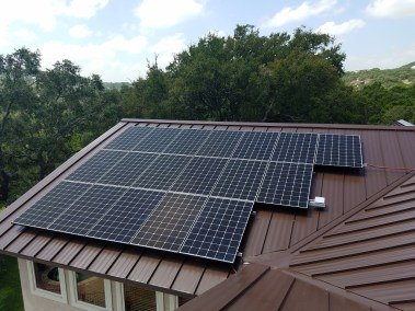 San Antonio Texas Home Solar Panel Installation-1