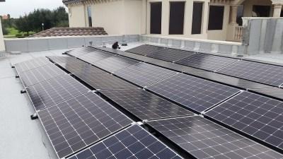 Sharyland Texas Home Solar Panel Install-2