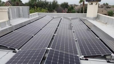 Sharyland Texas Home Solar Panel Install