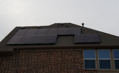 Frisco Texas Home Solar Panel Installation-1