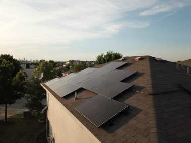 Home Solar Panel Installation South Austin Texas-1