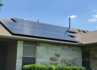 Round Rock Texas Home Solar Panel Installation