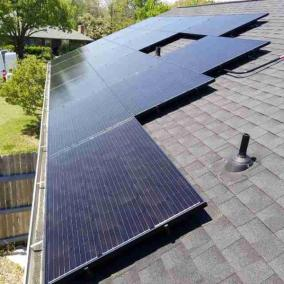 Sachse Texas Home Solar Panel Install-1